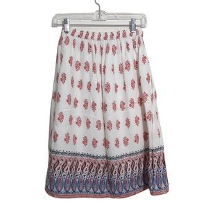 LUCKY BRAND Size XS Skirt Floral Cute!